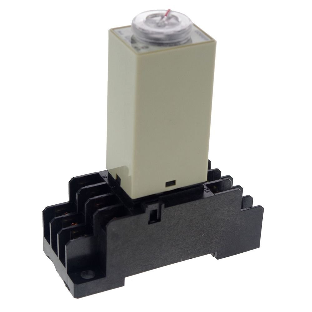 0.5~10Min 3A 24VAC H3Y-4 Power On Time Delay Relay Solid-State 4PDT 14 Pin