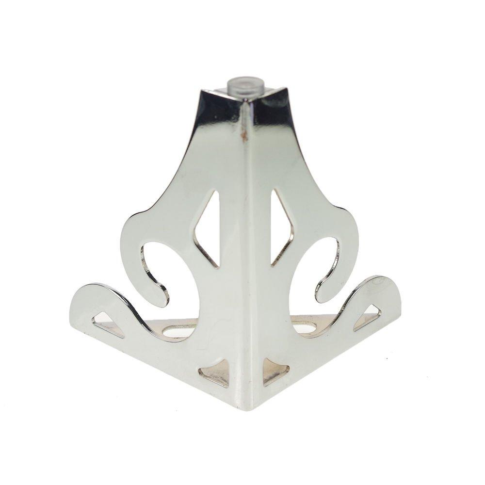 Set 2pcs 120mm Set Metal Furniture Cabinet Bed Tea Table Chair Sofa Leg Feet