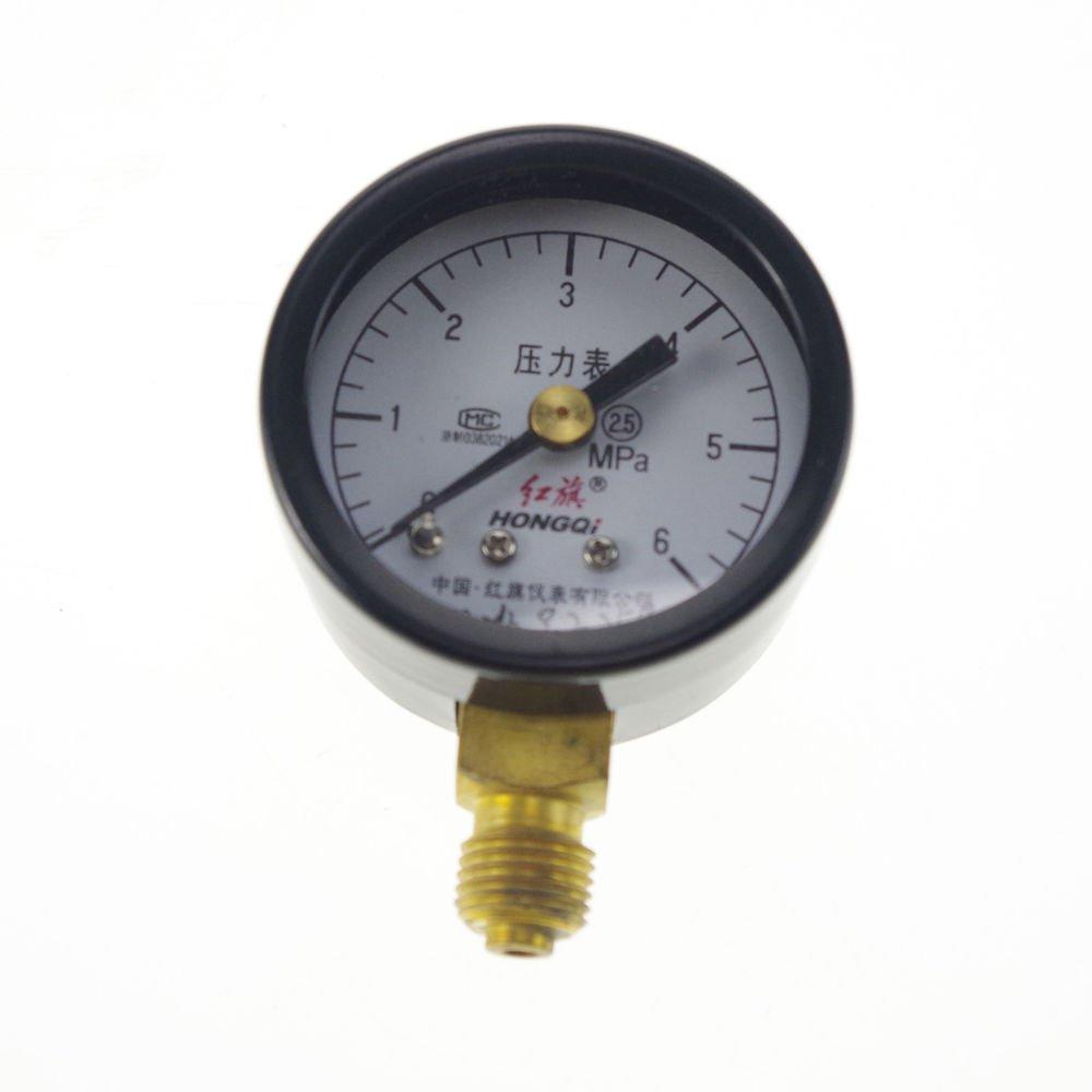 0-6Mpa Water Oil Hydraulic Air Pressure Gauge Universal Gauge M10*1  40mm Dial
