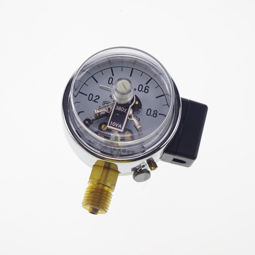 Electric Contact Pressure Gauge Universal Gauge M14*1.5 60mm Dia 0-1Mpa