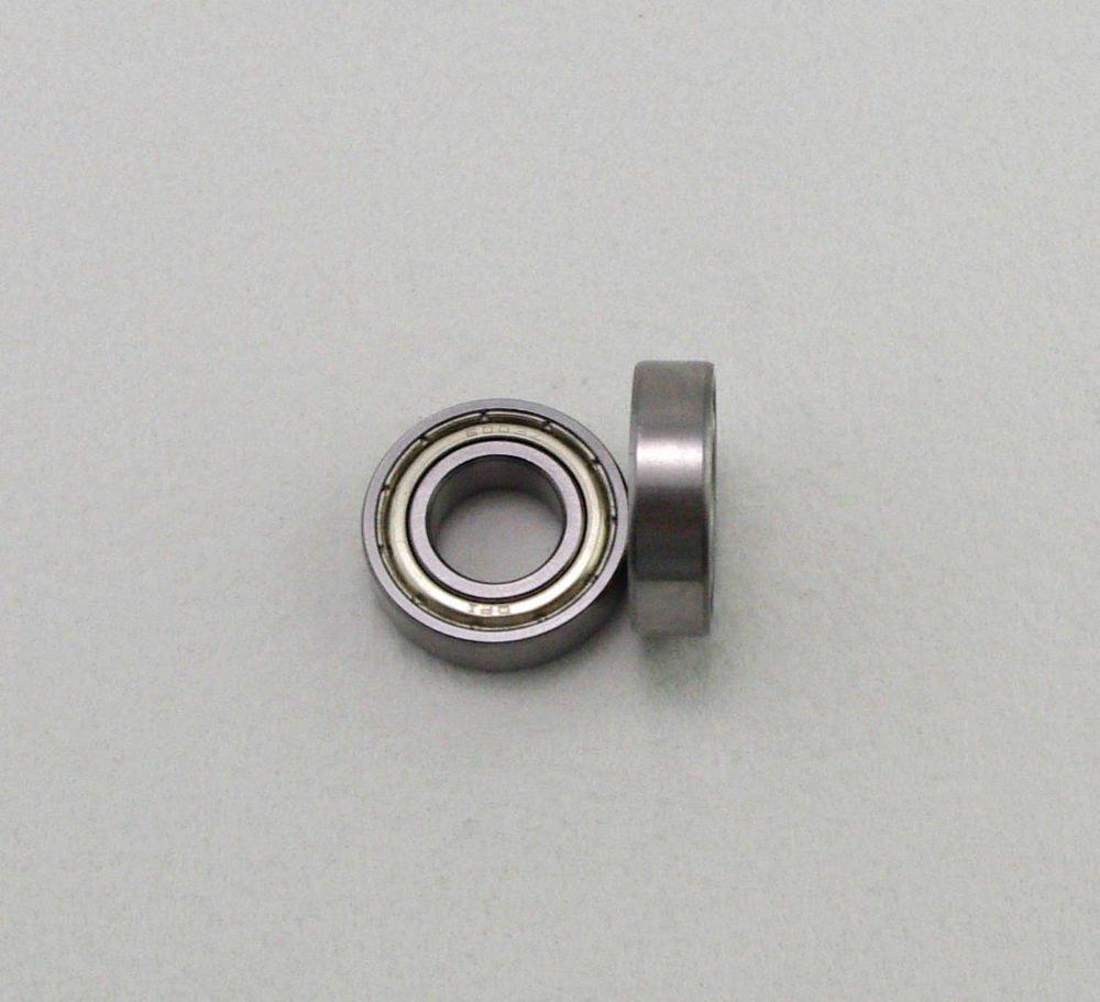 "(10) 1/8"" x 3/8"" x 9/64"" Shielded Micro Ball Model Radial Bearing R2-6ZZ"