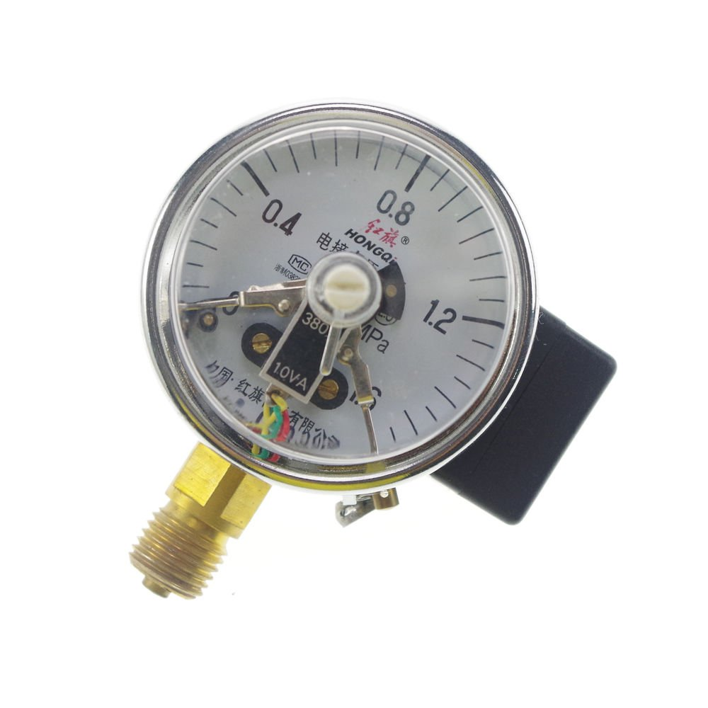 Electric Contact Pressure Gauge Universal Gauge M14*1.5 60mm Dia 0-1.6Mpa