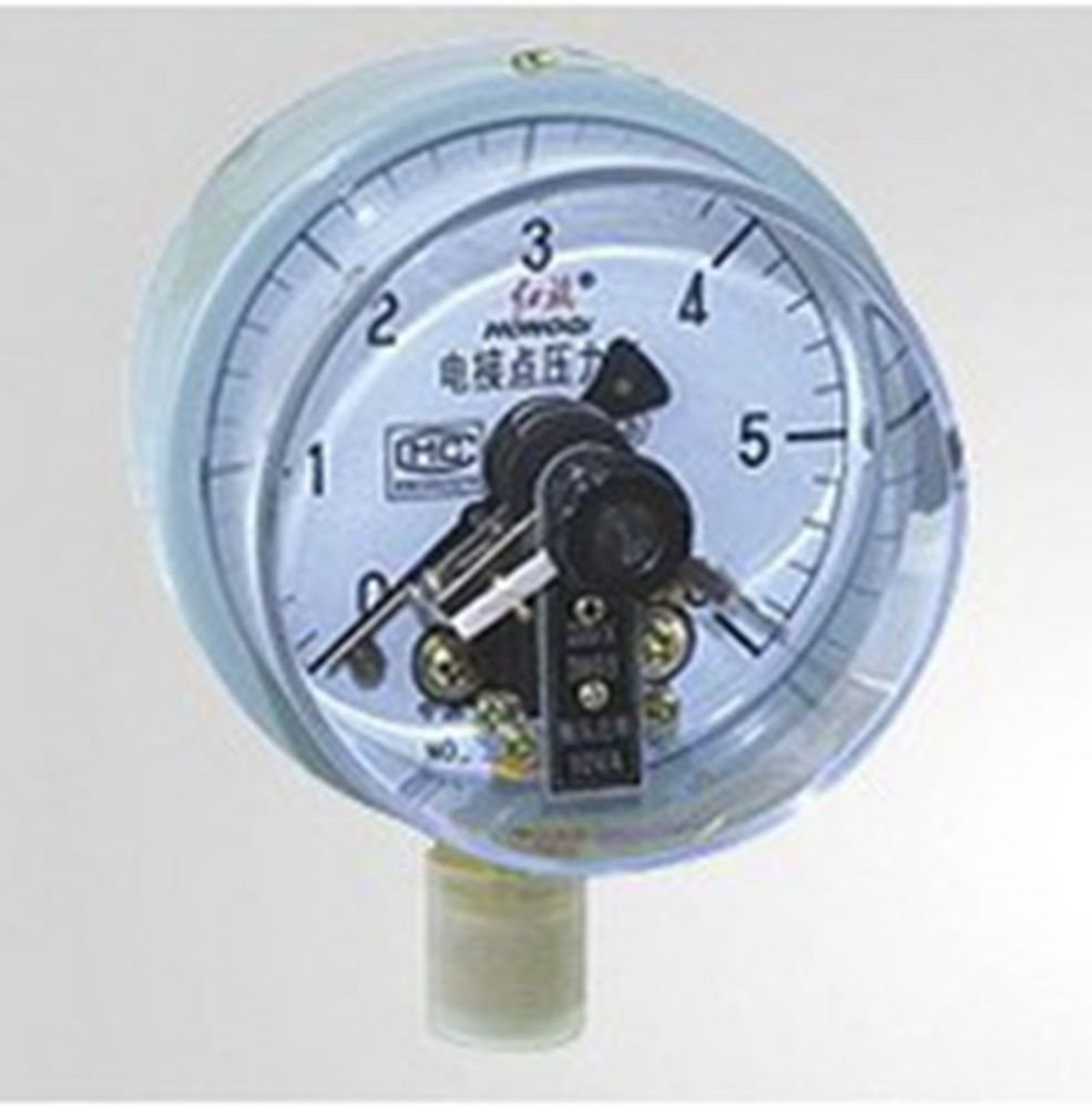 Electric Contact Pressure Gauge Universal Gauge M20*1.5 150mm Dia 0-6Mpa