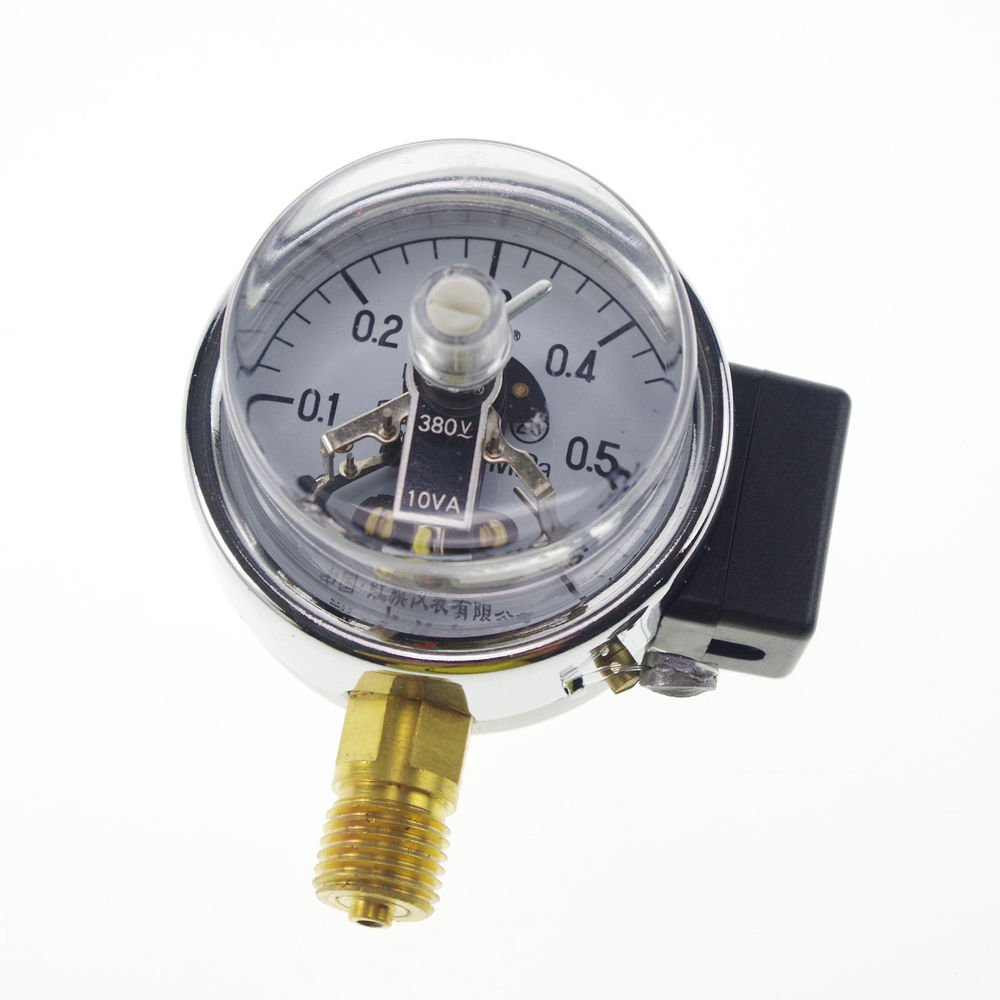 Electric Contact Pressure Gauge Universal Gauge M14*1.5 60mm Dia 0-0.6Mpa
