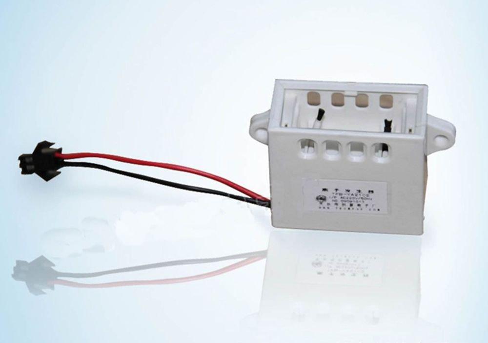 White Positive and Negative Ion Generator to Taste Fresh Fridge 12V