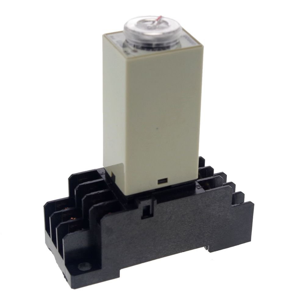 0.5~10Min 3A 12VDC H3Y-4 Power On Time Delay Relay Solid-State Timer 4PDT 14Pin