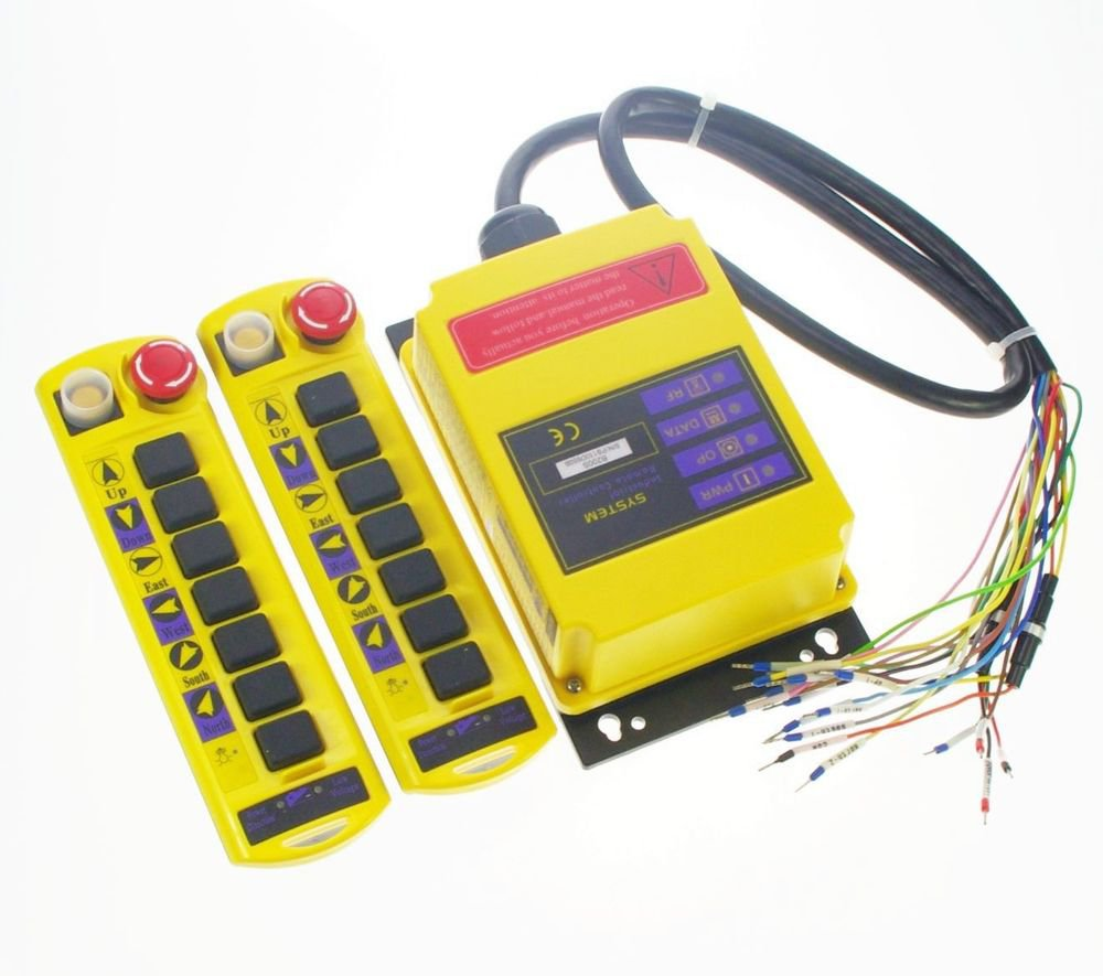 2 Speed 2 transmitter Control Hoist Crane Radio Remote Control System Control