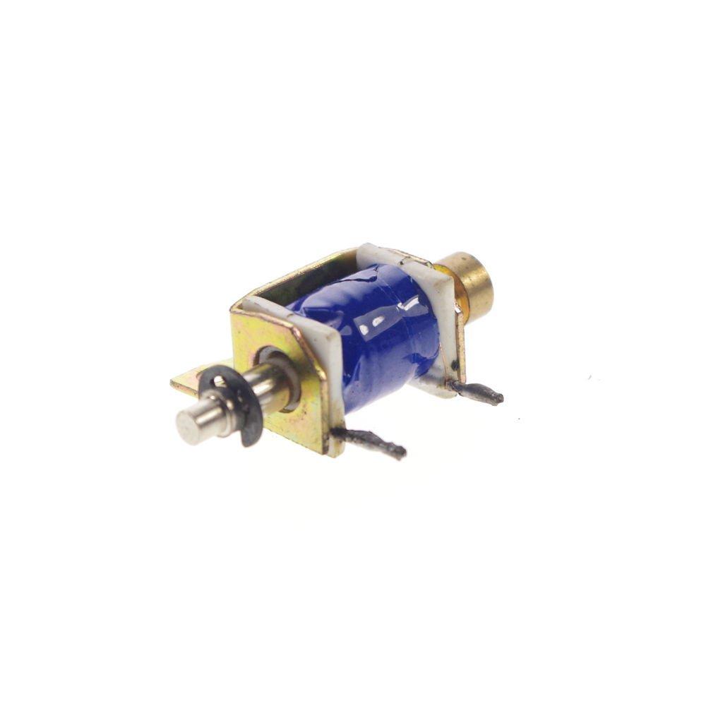 24VDC 200g Pull Hold/Release 3-5mm Stroke Force Electromagnet Solenoid
