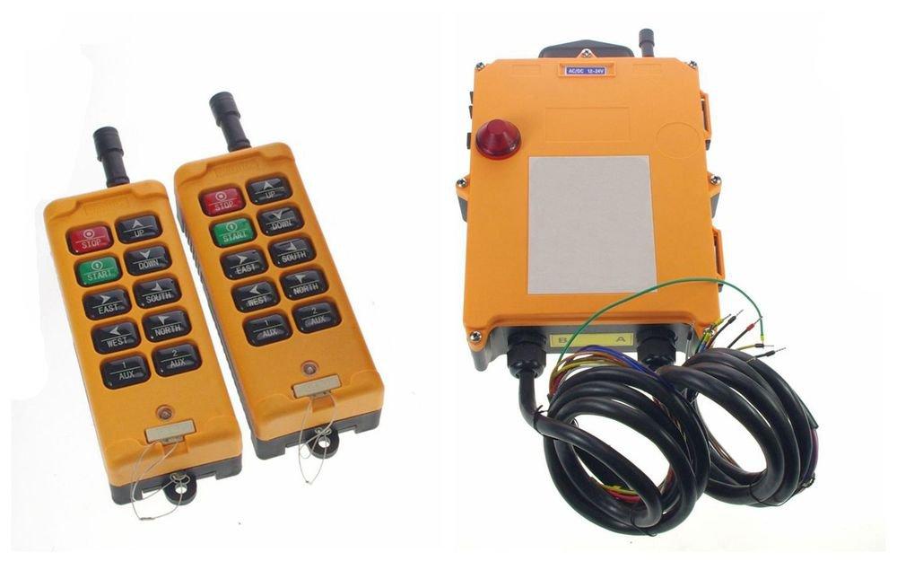 12VDC 4 Motions 2 Speed  Hoist Crane Remote Control System Controller