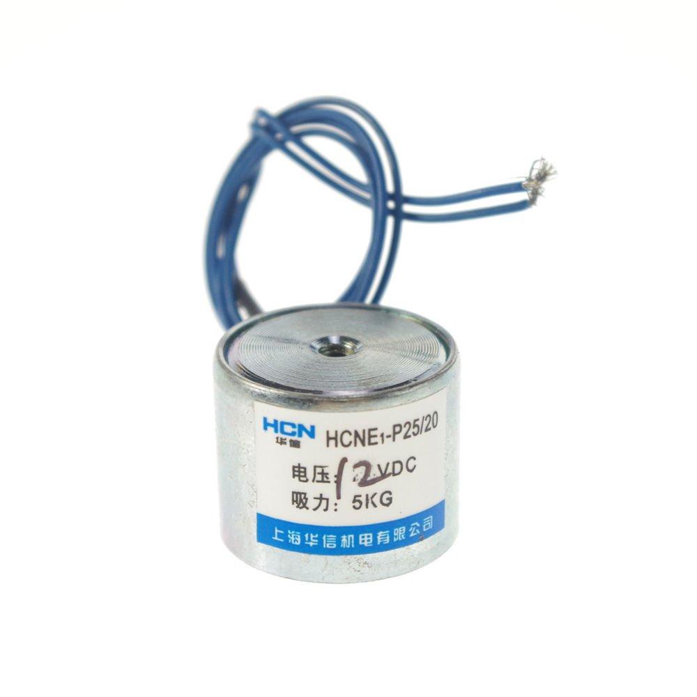 20pcs 25mm Holding Electromagnet Lift 5kg Solenoid