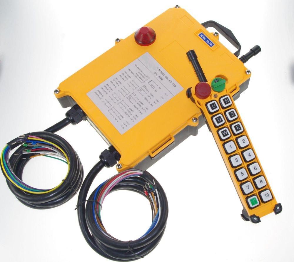 8 Motions 1 Transmitter Hoist Crane Truck Radio Remote Control System Control