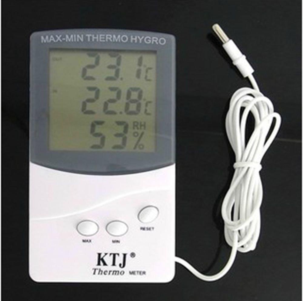 TA-318 Indoor and outdoor Temperature and humidity meter 2 meter sensor