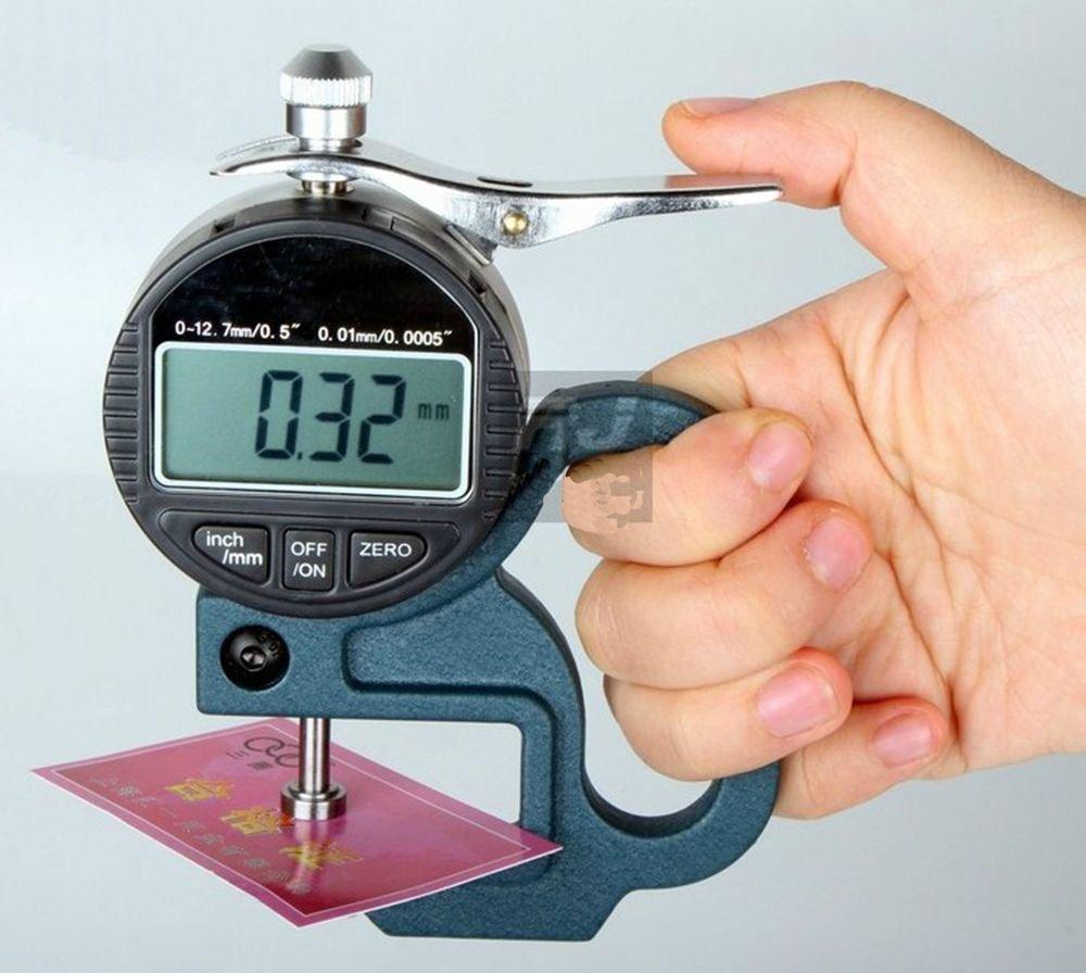 Digital readout percentile thickness gauge 0.01 mm  Range:0-10mm