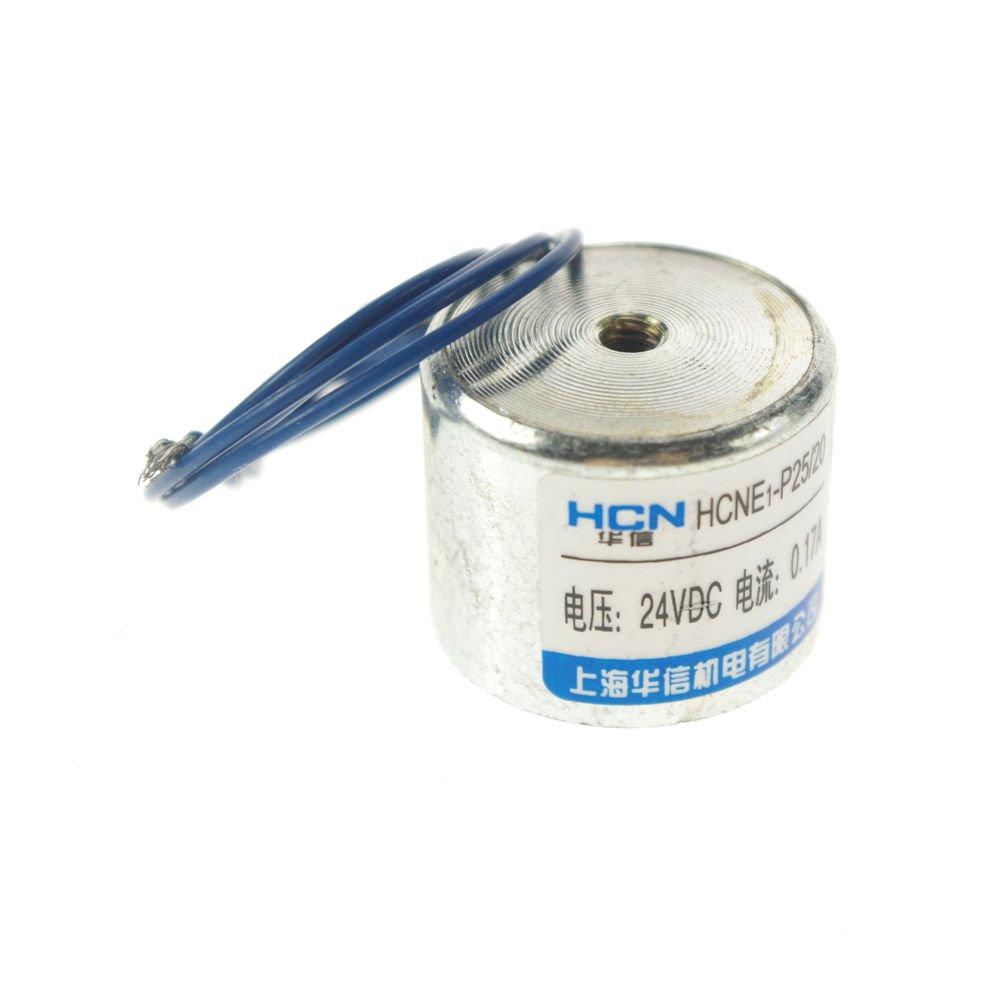 (20) 25mm 5kg 11LB Holding Electromagnet Lift  Solenoid