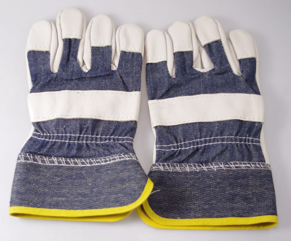 Wear-resisting  Brief paragraph leather welding gloves or carriage using 24*13cm