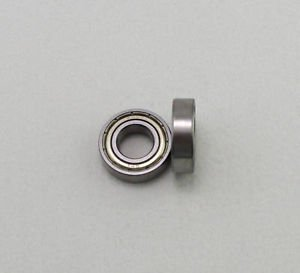 "(10) 3/16"" x 5/16"" x 1/8"" Shielded Micro Ball Model Radial Bearing R156ZZ"