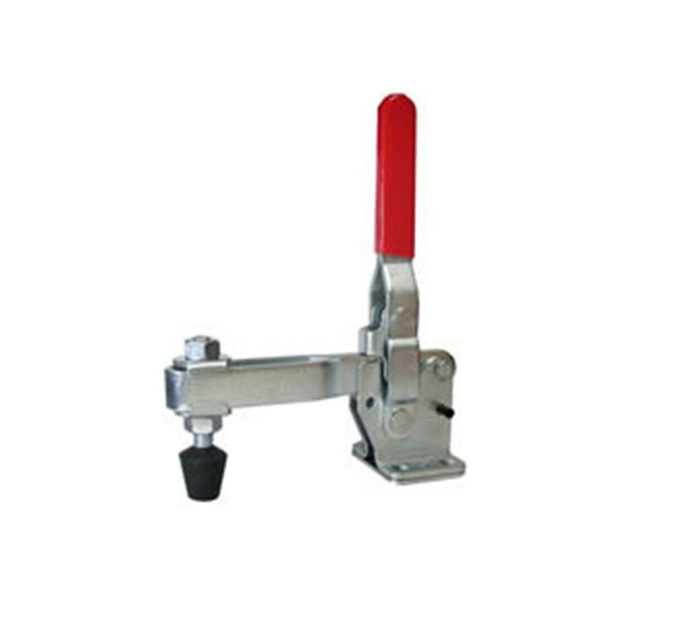 Vertical Toggle Clamp 10247 Holding Capacity 460Kg U-bar Flange Base