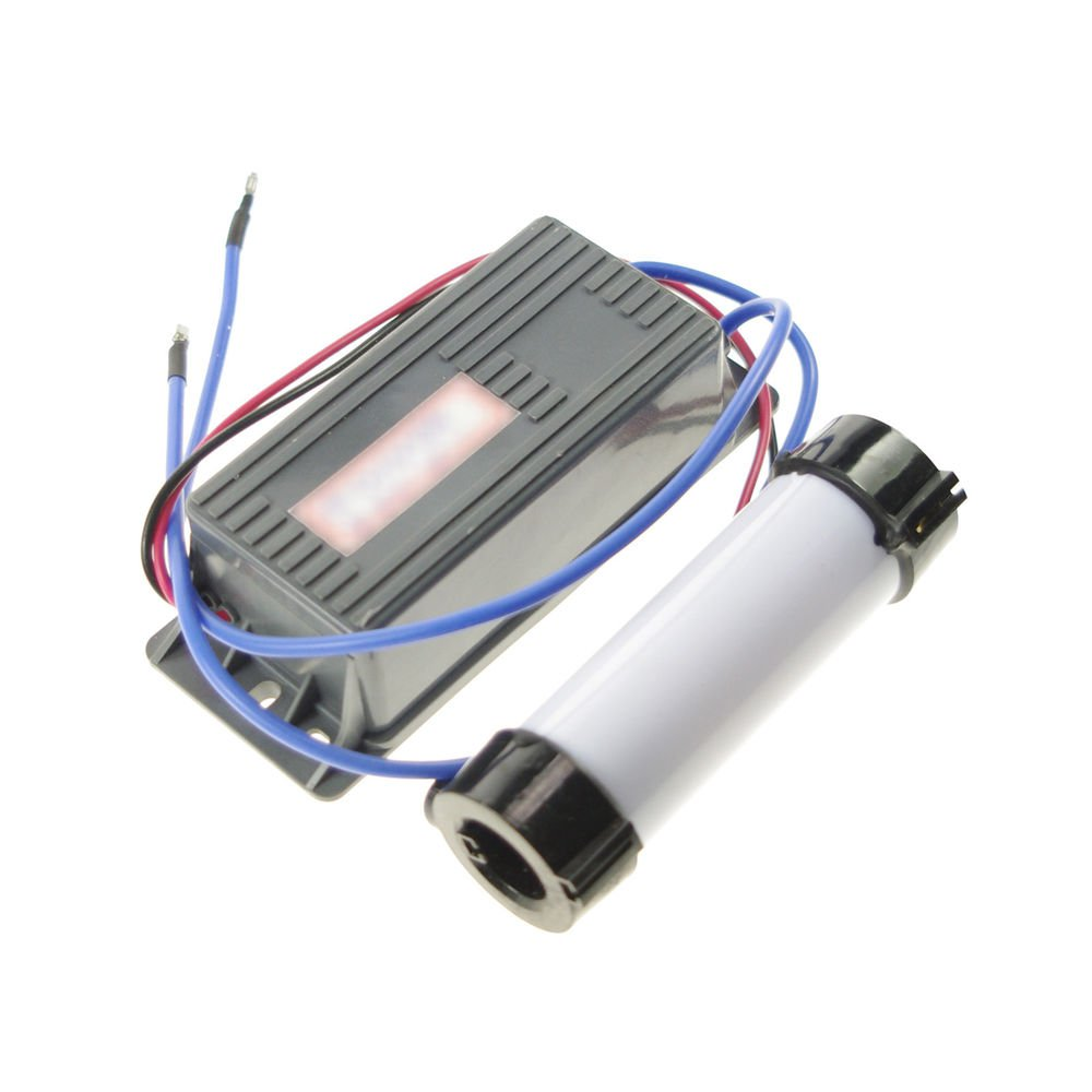 24V 2000mg/h Ozone Generator Tube Water&Air Purifier Disinfection Deodorization