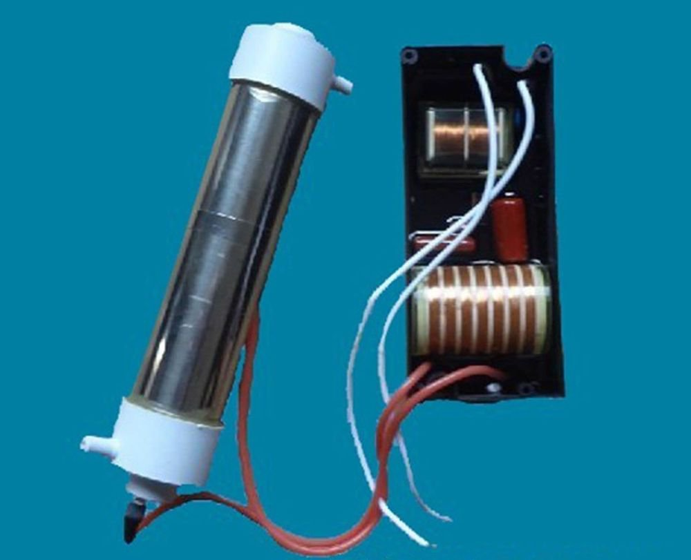 220V 1000mg/h Ozone Generator Tube Water&Air Purifier Disinfection Deodorization