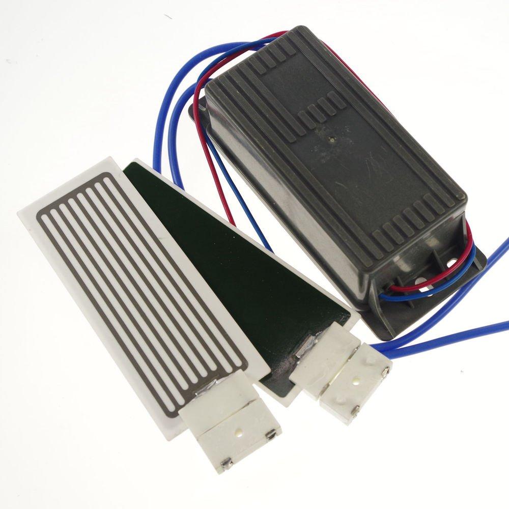220V 7000mg/h Ceramic Plate&2*Circuit Board Ozone Generator Air Purifier Kit