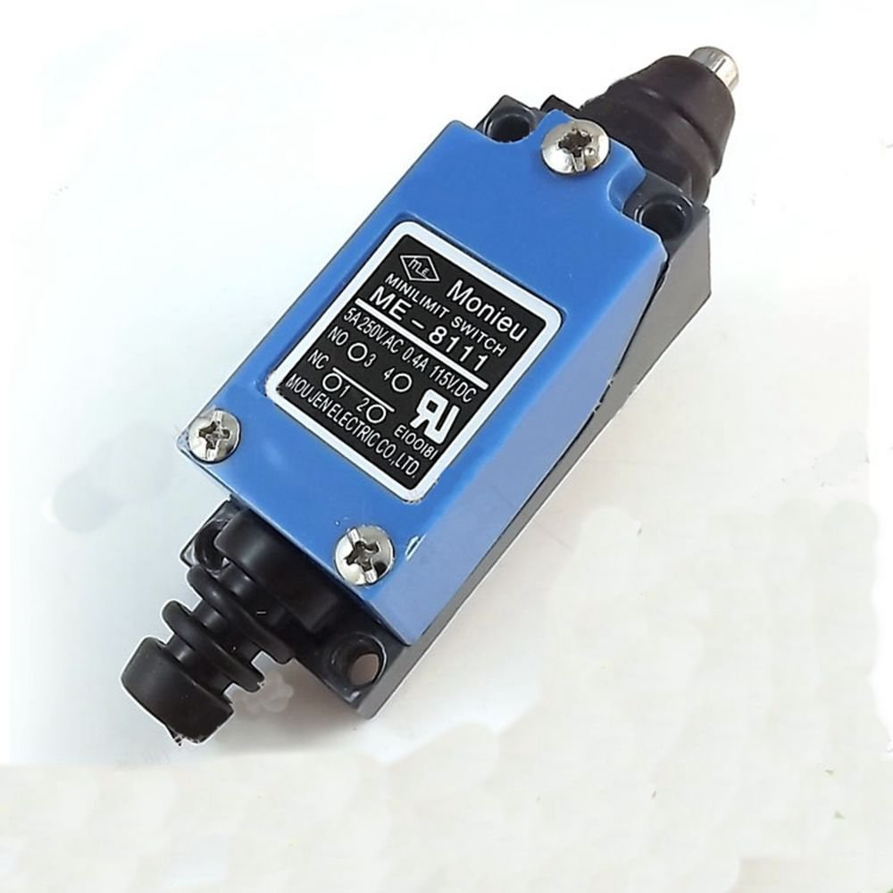 ME-8111 SPDT Momentary Short Spring Plunger Mini Limit Switch 1NO 1NC 250VAC 5A