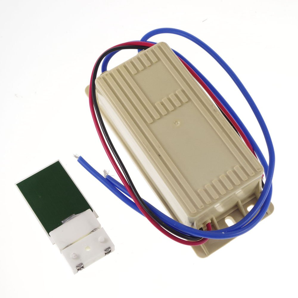 12V 10W 1000mg/h Ceramic Plate & Circuit Board Ozone Generator Air Purifier Kit