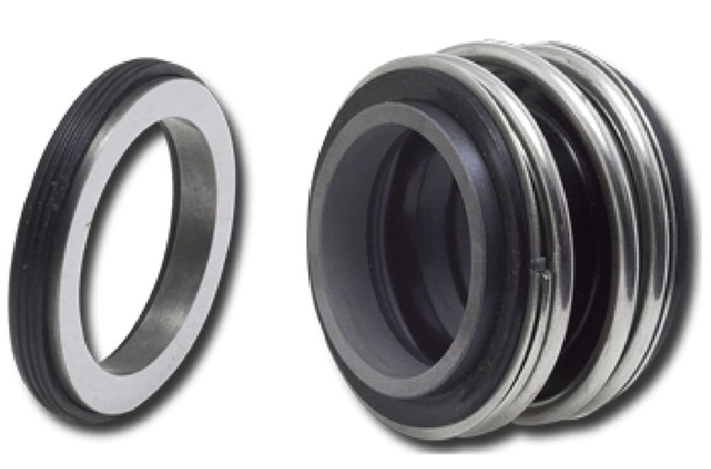 Water Pump Single Coil Spring 16mm Inner Dia Mechanical Shaft Seal MG1-16
