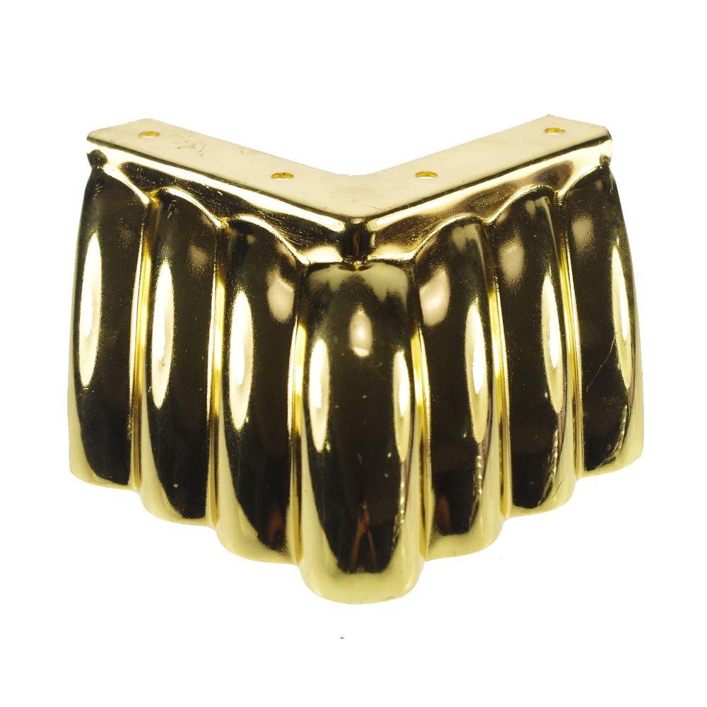 4pcs 65mm Golden Metal Furniture Cabinet Legs Tea Table Bed Chair Sofa Leg Feet