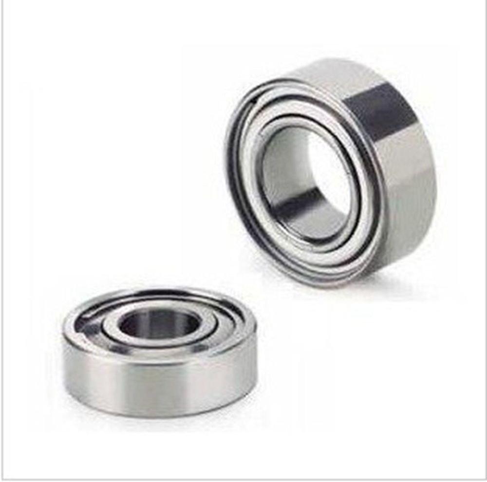 "(10) 1/4""*5/8""*0.196"" SR4ZZ Shielded Deep Groove Radial Stainless Steel Bearing"