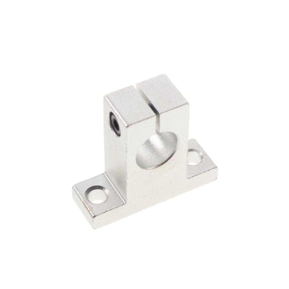 (2)12mm Bearing CNC Aluminum Rail Linear Motion Shaft Support Series Slide SK-12