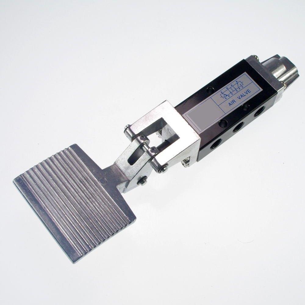 "(1)PCS 1/4"" 2 Position 5 Way Air Pneumatic Foot  Pressure Control Valve ST-402A"