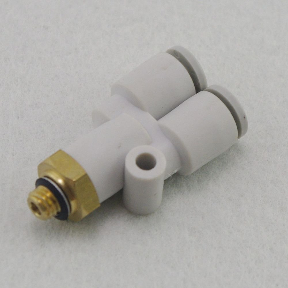 �5� One Touch Push In Branch Union Y Connectors Male Replace SMC KQ2U04-02S