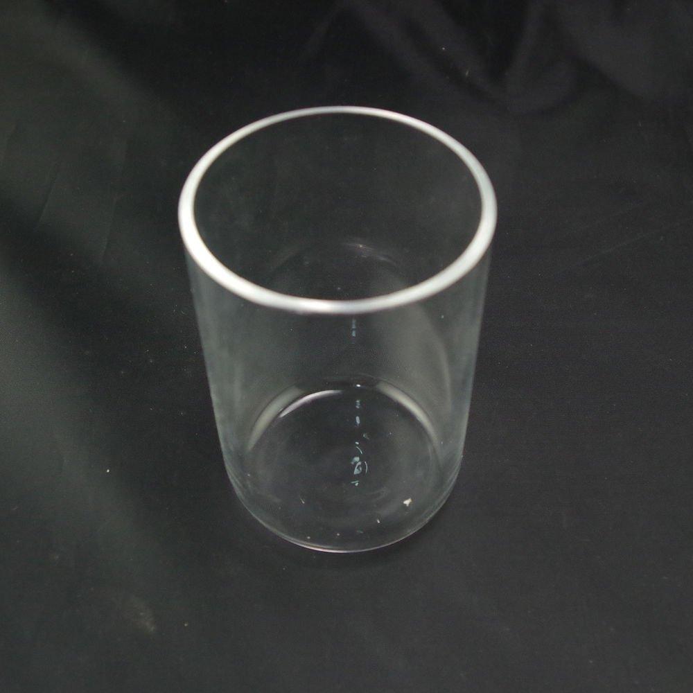 LOT8 Quartz crucible 150ml SiO2 silica crucible