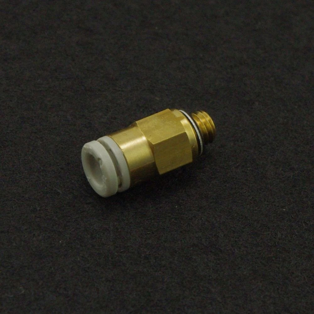 �5� One Touch Brass Male Tube Straight Union Connector Replace SMC KQ2H08-04S