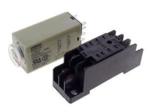 10 Pieces 12VDC H3Y-2 Power On Time Delay Relay Solid-State Timer 0.1-1S DPDT