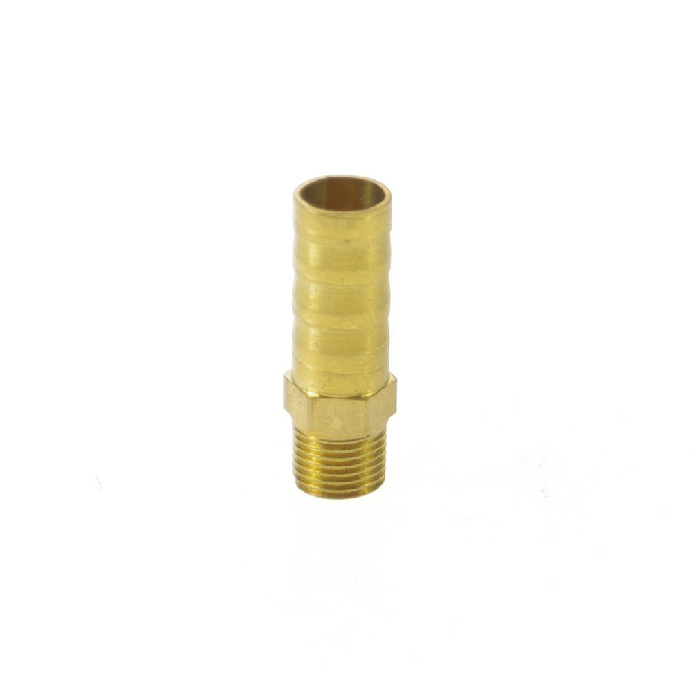 "5pcs 1/8"" BSPP Connection Male-10mm barbed Hose Brass Adapter Coupler Connector"