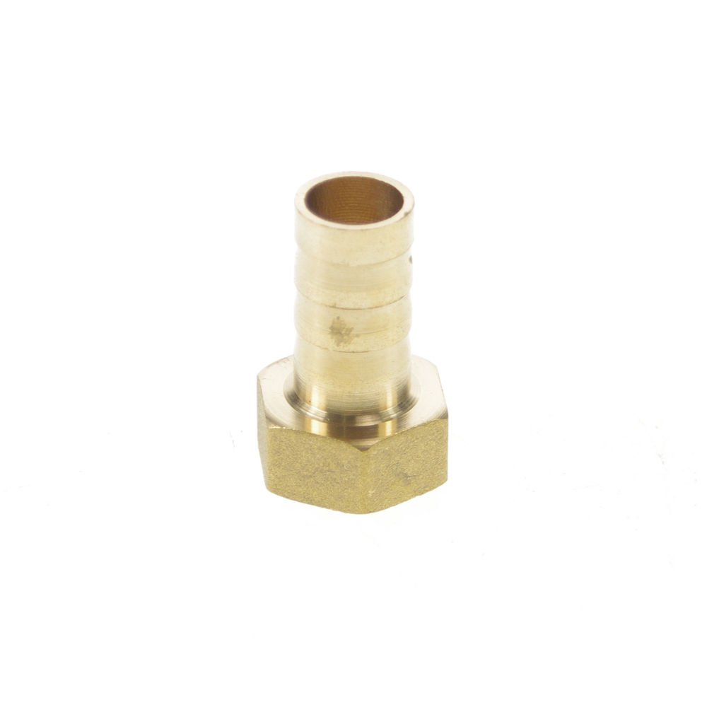 "5pcs 3/8"" BSPP Connection Female-12mm barbed Hose Brass Pipe Connector Adapter"