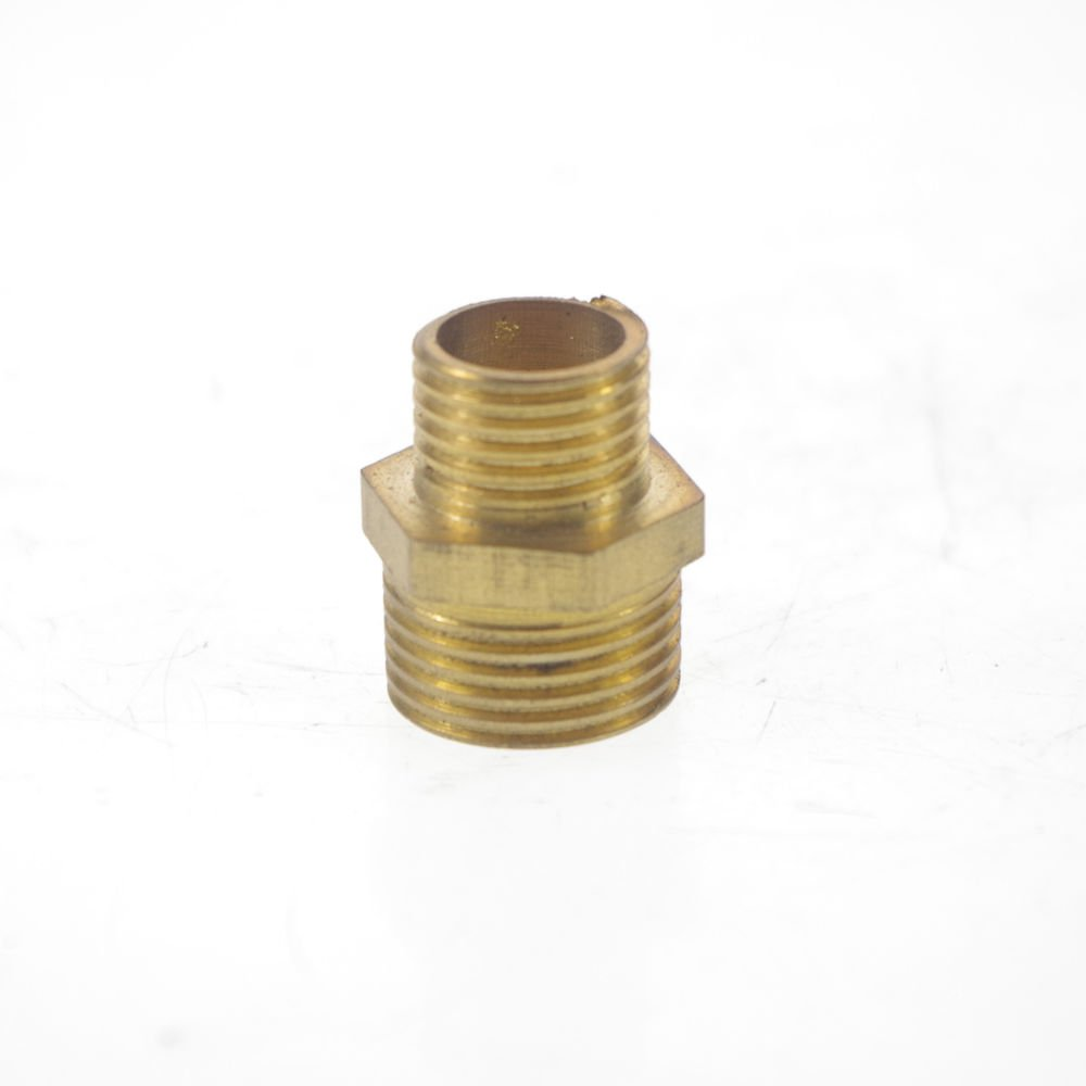 "5PCS Brass 3/8"" Male x 1/4"" Male BSPP Connection Hex Bushing Adapter Reducer"