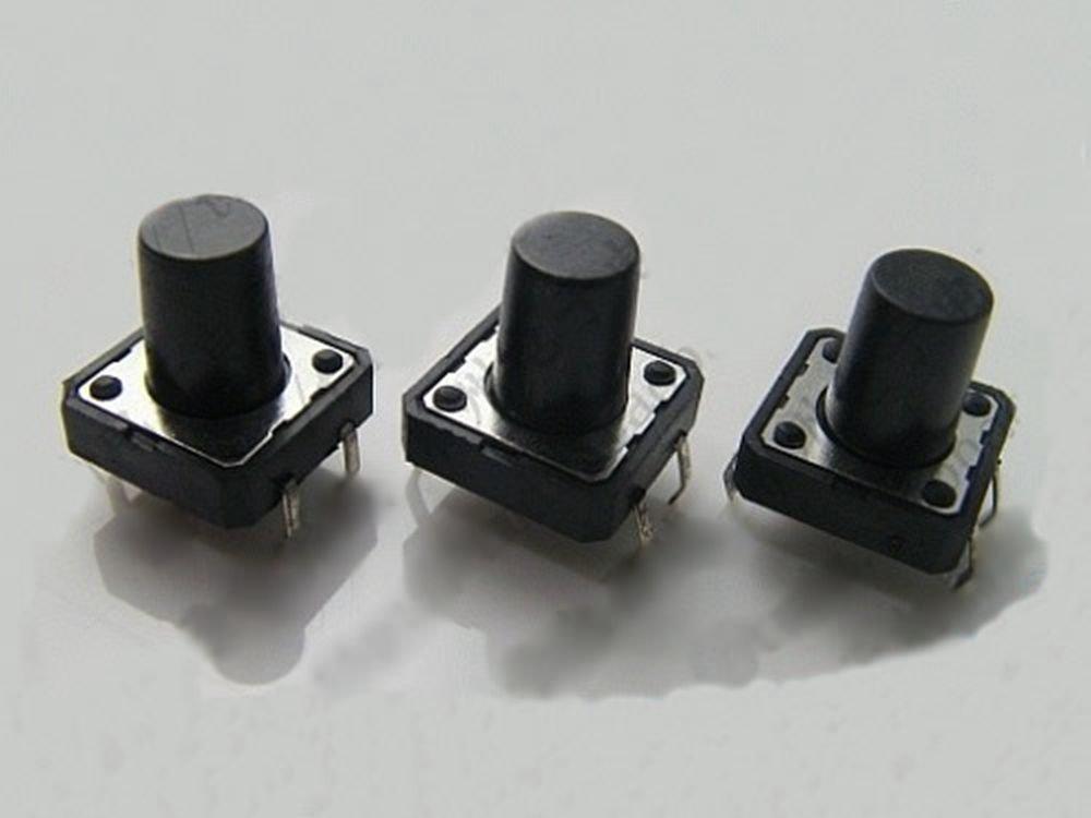 20 pcs 12 x 12 x 7mm PCB Momentary Tactile Tact Push Button Switch 4 Pin DIP