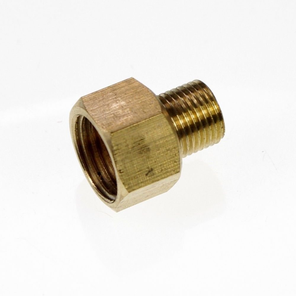 "5PCS Brass 1/8"" Male x 1/4"" BSPP Female Adapter Reducer"