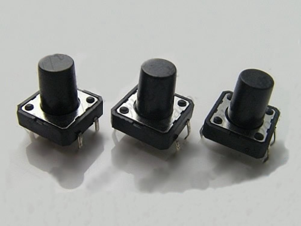 20 pcs 12 x 12 x 8mm PCB Momentary Tactile Tact Push Button Switch 4 Pin DIP