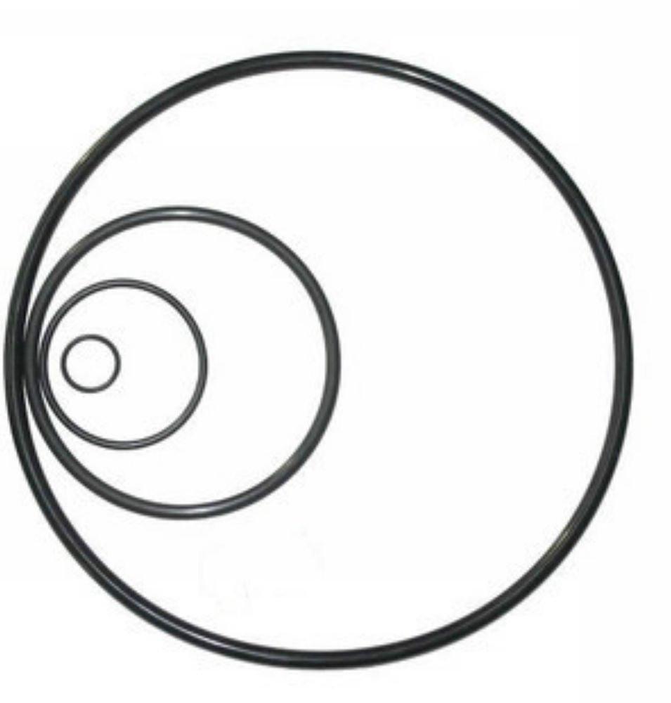 50PCS Nitrile Rubber NBR Inside Diameter1.8*1.8mm-53*1.8mm Seal Rings O-Rings