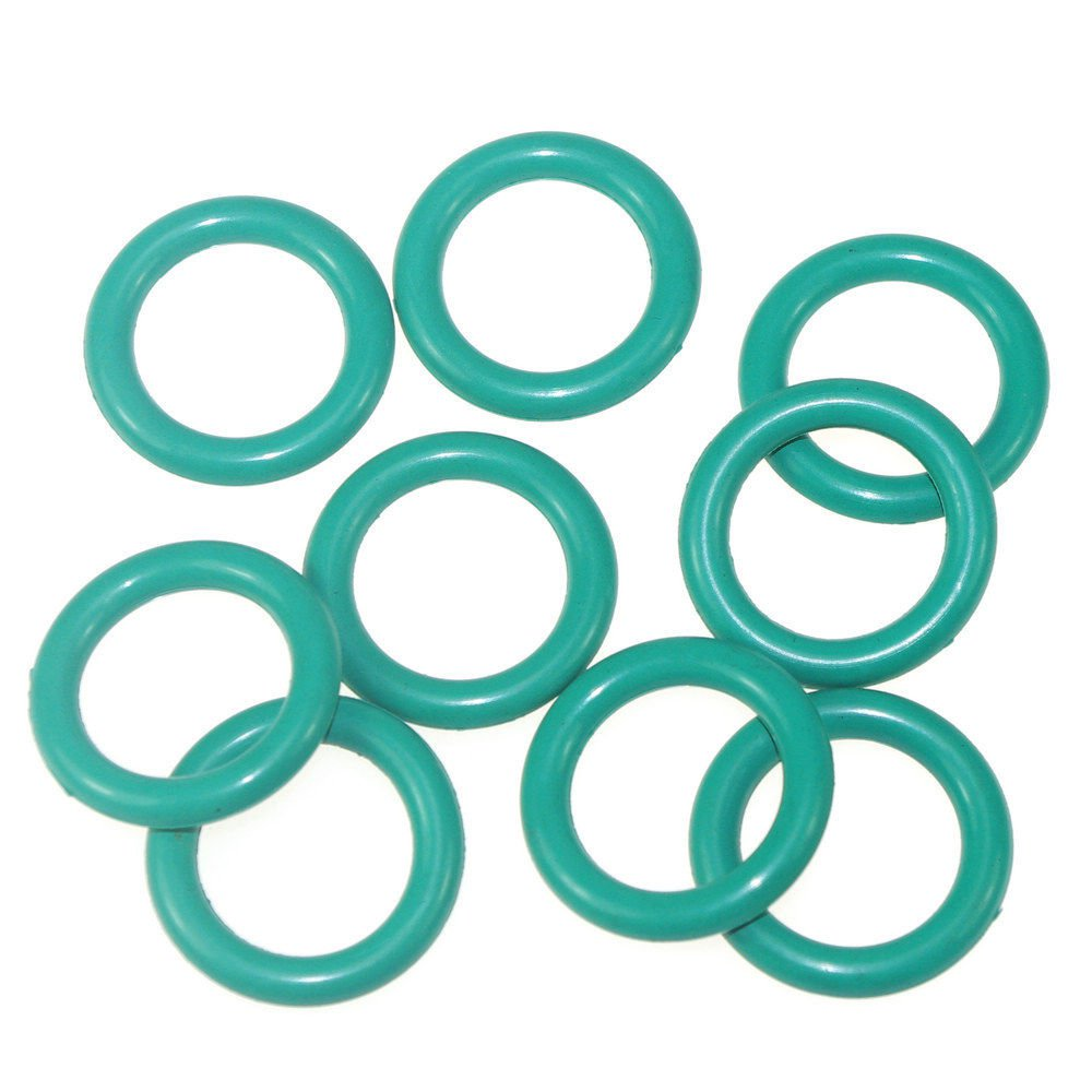 50PCS Fluorine Rubber FKM Outer Diameter5*1.5mm-28*1.5mm Seal Rings O-Rings