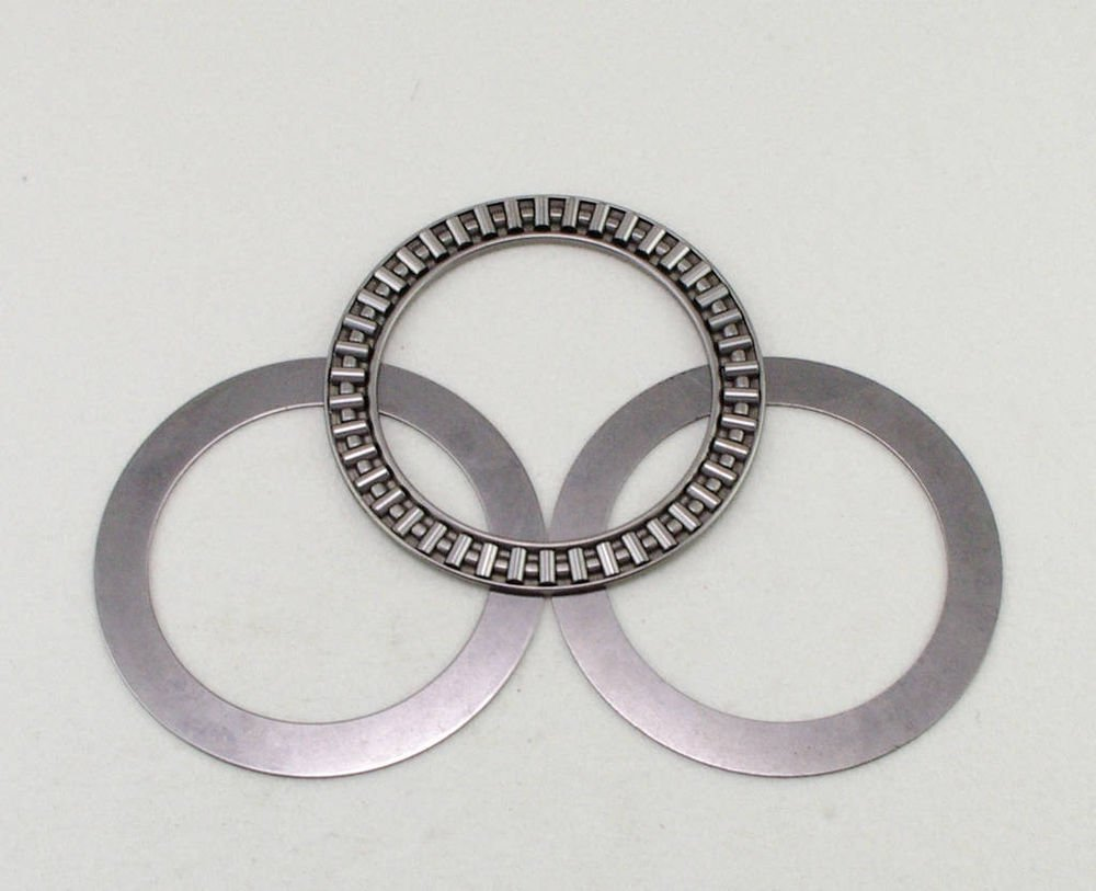 (1) 90 x 120 x 4mm AXK90120 Thrust Needle Roller Bearing Each With Two Washers