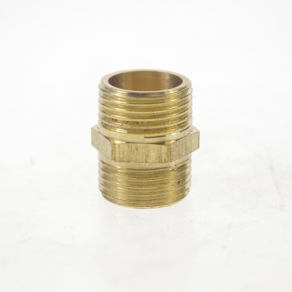 """5PCS 3/8"""" BSPP Connection straight Male Pipe Brass Adapter Coupler Connector"""