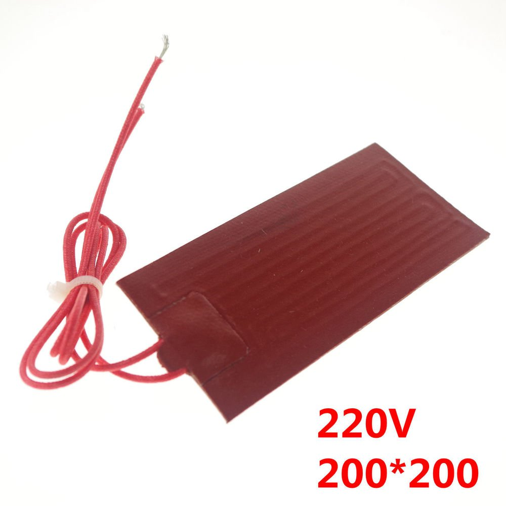 220V 200W 200*200mm Silicon Band Drum Heater Oil Biodiesel Plastic Metal Barrel