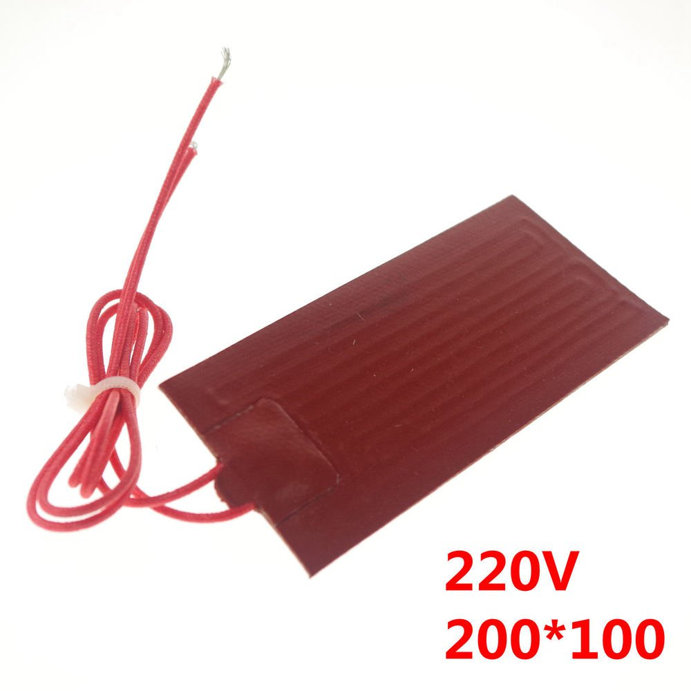 220V 100W 200*100mm Silicon Band Drum Heater Oil Biodiesel Plastic Metal Barrel