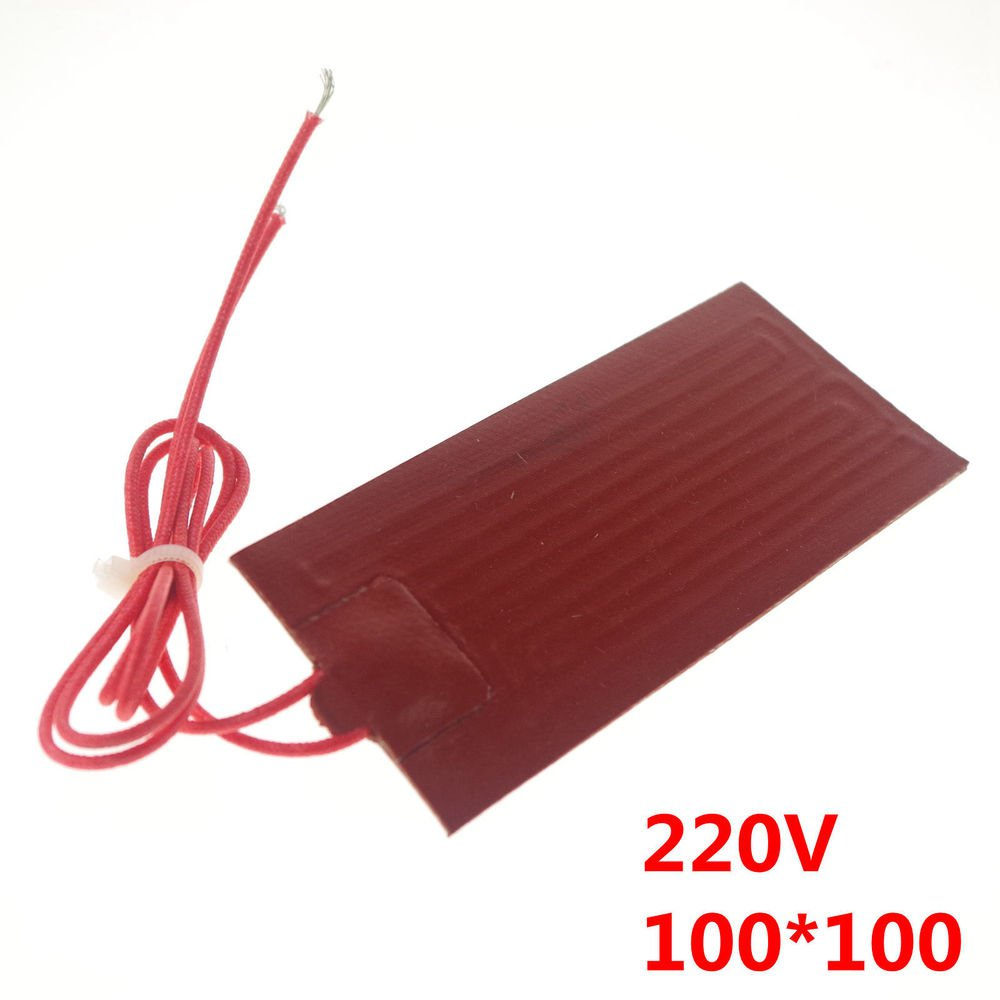 220V 50W 100mm*100mm Silicon Band Drum Heater Oil Biodiesel Plastic Metal Barrel