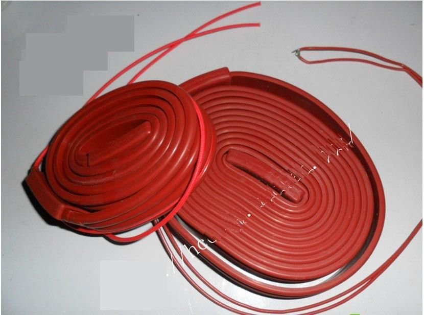 220VAC 500W 25*5000mm Silicon Band  Heater Strip waterproof