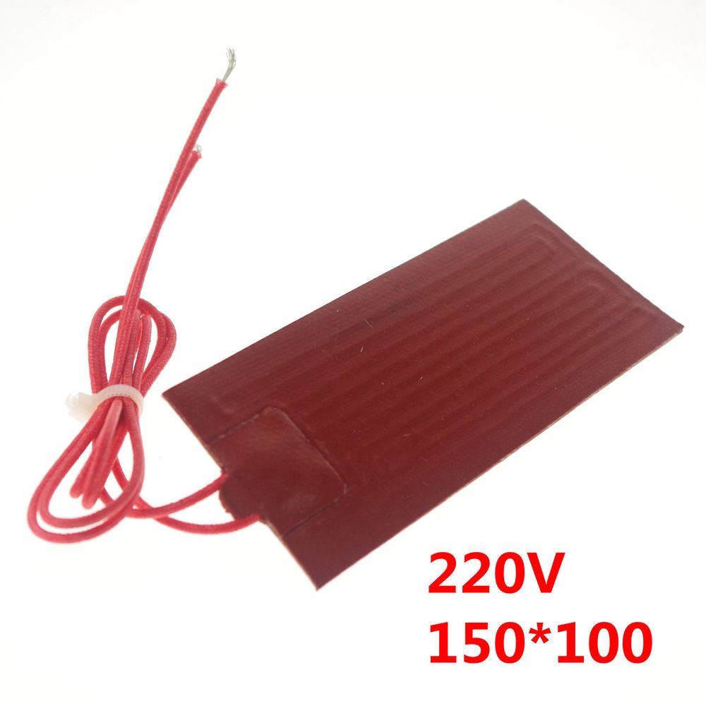 220V 75W 150mm*100mm Silicon Band Drum Heater Oil Biodiesel Plastic Metal Barrel